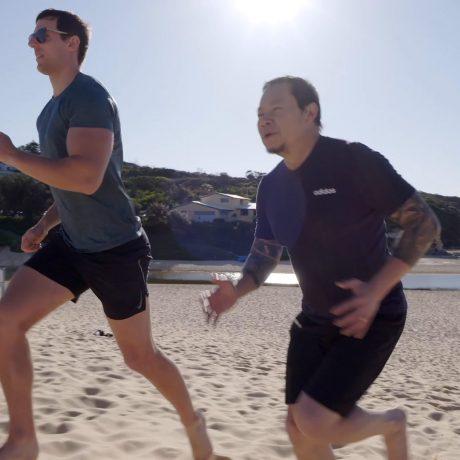 Beach Fitness runs